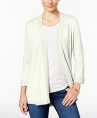 Charter Club Button Cuff Cardigan Only At Macy's Cloud