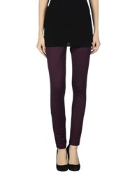Naughty Dog Trousers Leggings Women Deep Purple