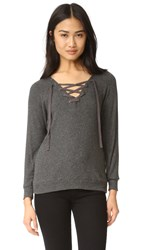 Velvet Billow Sweater Anthracite