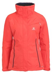 Salomon Fantasy Ski Jacket Infrared