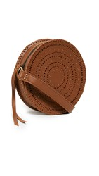 Cleobella Ivy Circle Crossbody Bag Cognac