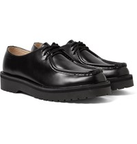 Saturdays Surf Nyc Bill Polished Leather Shoes Black