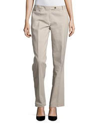 Calvin Klein Straight Leg Dress Pants Khaki