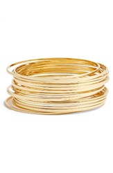 Argentovivo Women's Argento Vivo Stack Bangles Set Of 18