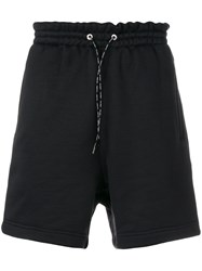 Golden Goose Deluxe Brand Drawstring Waist Shorts Black