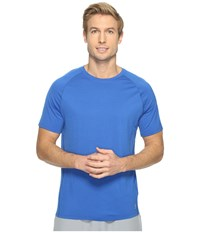 Smartwool Merino 150 Baselayer Short Sleeve Bright Blue Men's T Shirt
