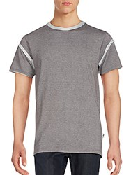 Publish Contrast Border Tee Heather