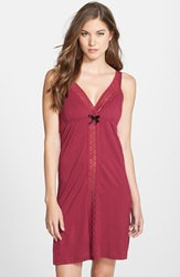Belabumbum 'Eva' Maternity And Nursing Chemise Garnet