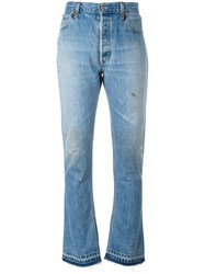 Re Done Elsa Bootcut Jeans Blue