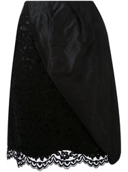 Dress Camp Floral Lace Skirt Black