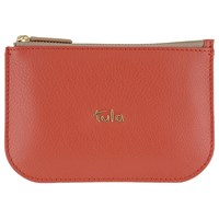 Tula Amy Leather Pouch Red