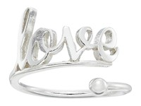 Alex And Ani Love Ring Wrap Precious Metal Sterling Silver Ring