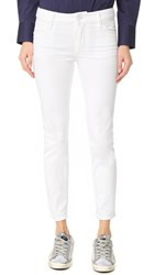Dsquared Twiggy Cropped Jeans White