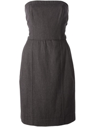 Yves Saint Laurent Vintage Strapless Dress