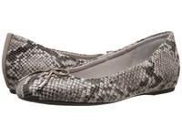 Rockport Total Motion 20Mm Bow Ballet Roccia Python Women's Flat Shoes Animal Print