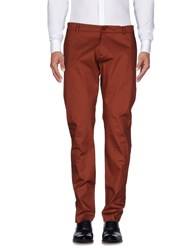 Mangano Casual Pants Brick Red