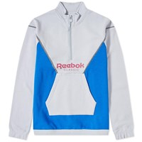Reebok Retro Half Zip Jacket Grey