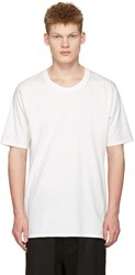 Nude Mm Off White Basic T Shirt