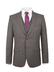 Alexandre Of England Arbour Jaspe Check Jacket Grey