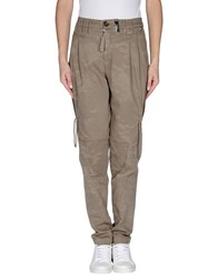 High Trousers Casual Trousers Women Sand