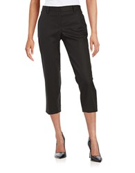Dkny Cotton Capri Pants Black