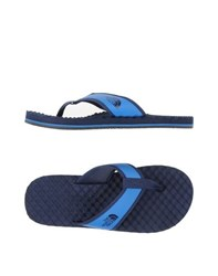 The North Face Footwear Thong Sandals Men Bright Blue