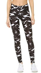 Hpe Camo Leggings Black White