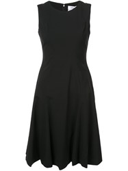 Prabal Gurung Flared Tank Dress Black