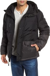 Marc New York Stanton Oxford Puffer Jacket Black