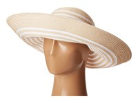 Lauren Ralph Lauren Bright Natural Sun Hat Natural White Caps Beige