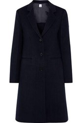 Iris And Ink Woman Hanson Wool Cashmere Blend Coat Navy
