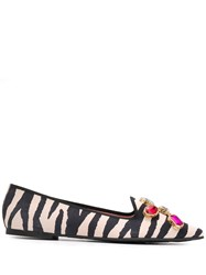 Pretty Ballerinas Zebra Print Pumps 60