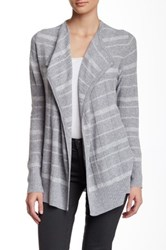 Cullen Plaid Cashmere Open Cardigan Multi