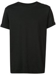 The Soloist Classic Short Sleeve T Shirt Men Cotton 52 Black