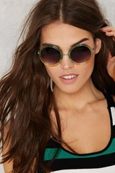 Nasty Gal Round Of Music Circle Shades