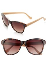 Women's Ivanka Trump 57Mm Sunglasses Tortoise