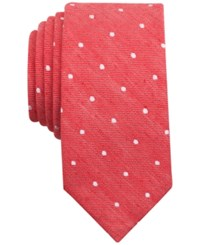 Bar Iii Men's Riga Dot Print Skinny Tie Only At Macy's