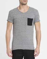 Eleven Paris Mottled Grey Babico T Shirt