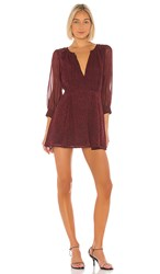 Cleobella X Revolve Genova Dress In Red. Ditzy Port