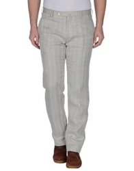 Marco Pescarolo Casual Pants Light Grey