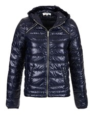 Morgan Lightweight Feather Filled Down Jacket Navy