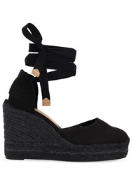 e6bc169f79d 80Mm Carina Canvas Espadrille Wedges Black