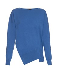 Tibi Asymmetric Seam Cashmere Sweater