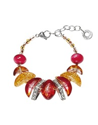 Antica Murrina Veneziana Elite Murano Glass Bracelet Amber