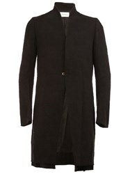 Song For The Mute High Neck Coat Black
