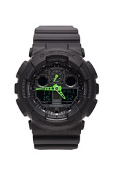 G Shock Ga 100 Neon Highlights Green