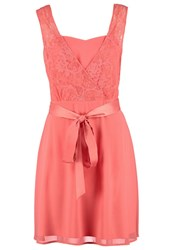 S.Oliver Cocktail Dress Party Dress Love Peach Coral