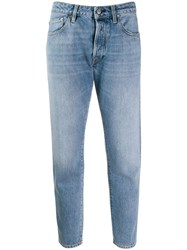 Golden Goose Cropped Casual Jeans Blue