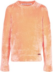 Alexander Wang Round Neck Jumper Orange