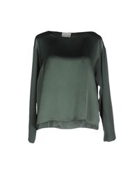 Forte Forte Forte_Forte Shirts Blouses Women Emerald Green